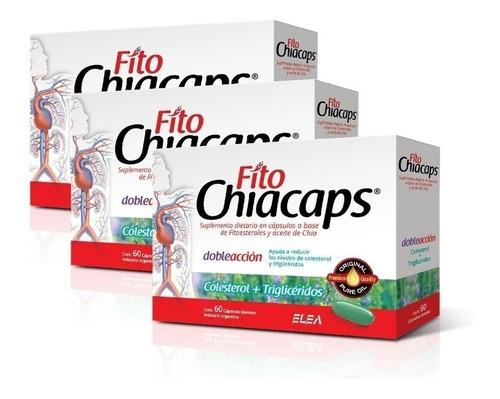 fito chiacaps omega 3 chia + fitoesteroles elea x 180 caps