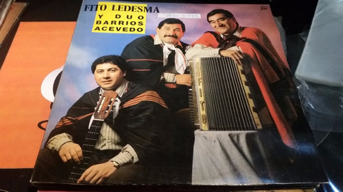fito ledesma y duo barrios acevedo vinilo impecable ultra