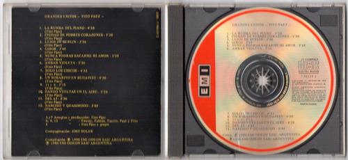 fito paez - grandes éxitos - cd