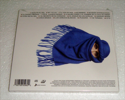 fito paez la ciudad liberada cd sellado / kktus
