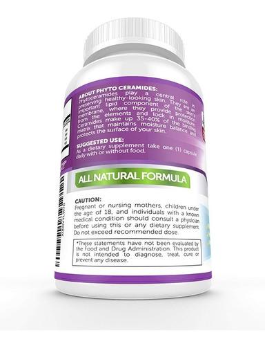 fitoceramidas pastillas antiarrugas vitaminas para la piel