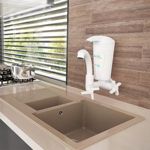fitro purificador de água ideale tripla filtragem c/ inmetro