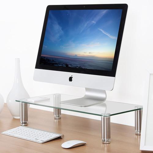 fitueyes computadora monitor riser 4,7 '' alta 23,6 ''