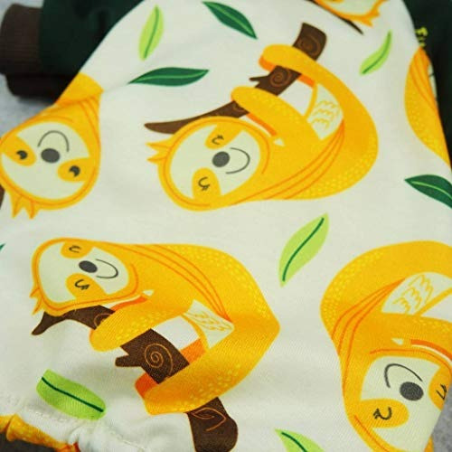 fitwarm perezoso mascota pijamas perro ropa pjs gato camisas
