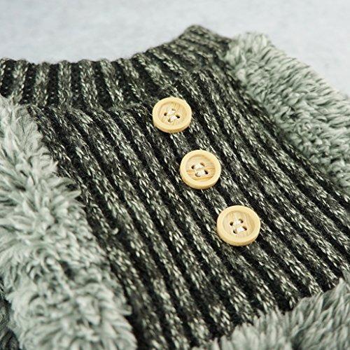 fitwarm terciopelo fuzzy de perrito térmicos para la capa d