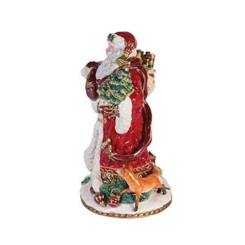 fitz y floyd 49-659 estatuilla navideña del renacimiento