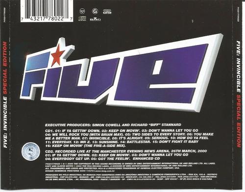 five-invisible (edição especial) 2 cd's