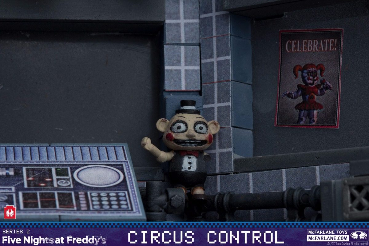 Five Nights At Freddy Sister Location Circus Control 160