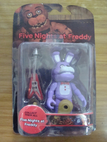 five nights at freddy´s 10 cm. articulados blister c/acc.