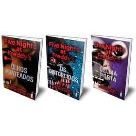 Five Nights At Freddy's A Última Porta + 2 Fnaf Frete Grátis