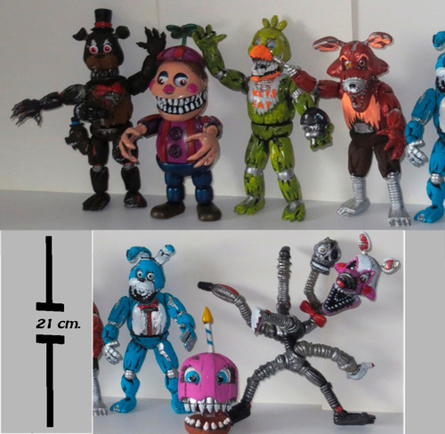 five nights at freddy's colección 7 nightmares