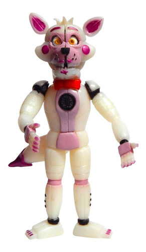five nights at freddys figura funtime foxy animatronic led