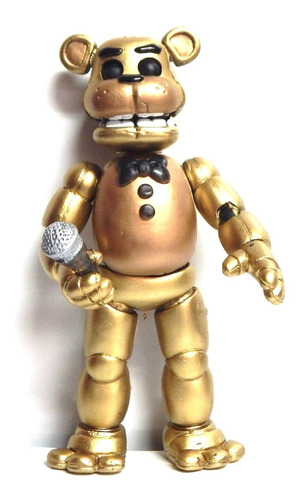 five nights at freddys figura golden freddy animatronic led