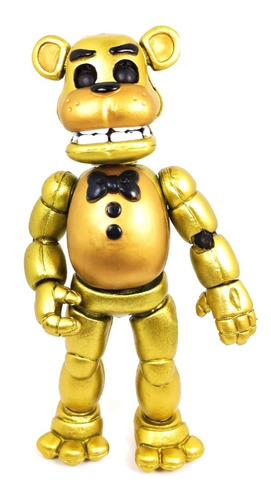 five nights at freddys figura golden freddy animatronic led