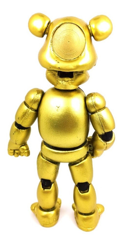 five nights at freddys figura golden freddy articulado luz
