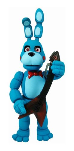 five nights at freddys figura toy bonnie articulado luz led