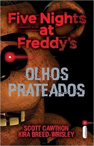 five nights at freddy's olhos prateados livro frete 8 reais