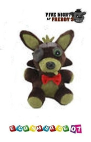 Five Peluche At Foxy Animatronic Nights Freddy's Phantom EH9D2I