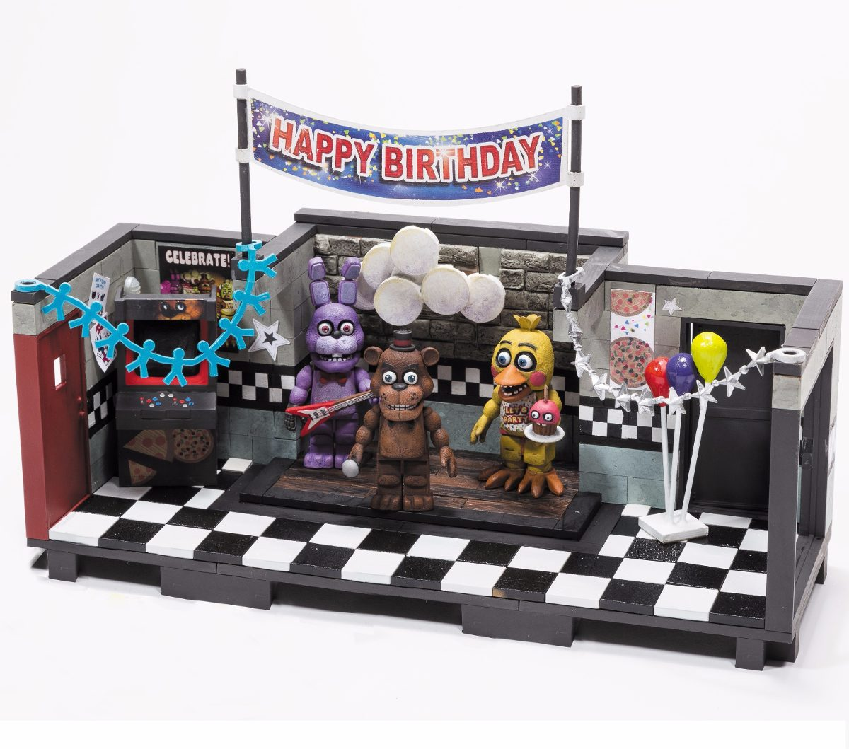 CINQ NIGHTS AT FREDDYS Action Figures 314 pcs