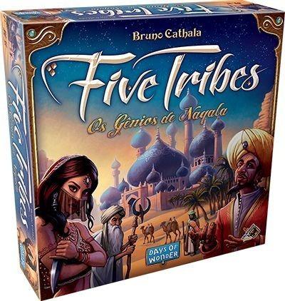 five tribes jogo de tabuleiro galapagos português board game