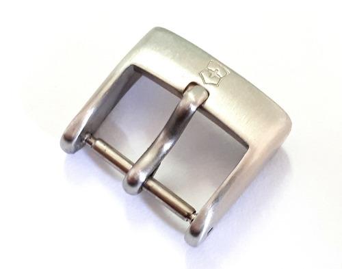 fivela aço pulseira relógio victorinox - 16mm - original