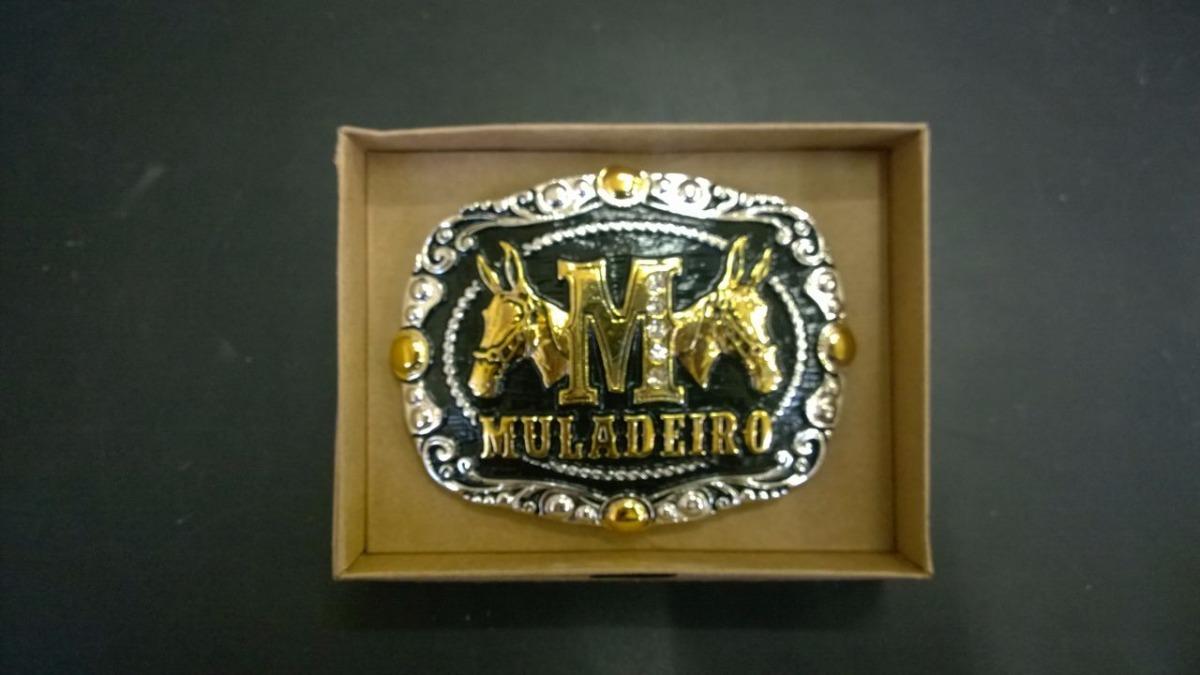 fivela country muladeiro banhada ouro e prata ultra promoção. Carregando  zoom. 8e59d45220d