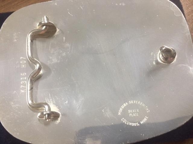 Fivela Importada U.s.a. Montana Silversmiths - R  799,00 em Mercado ... 7a96999f4c