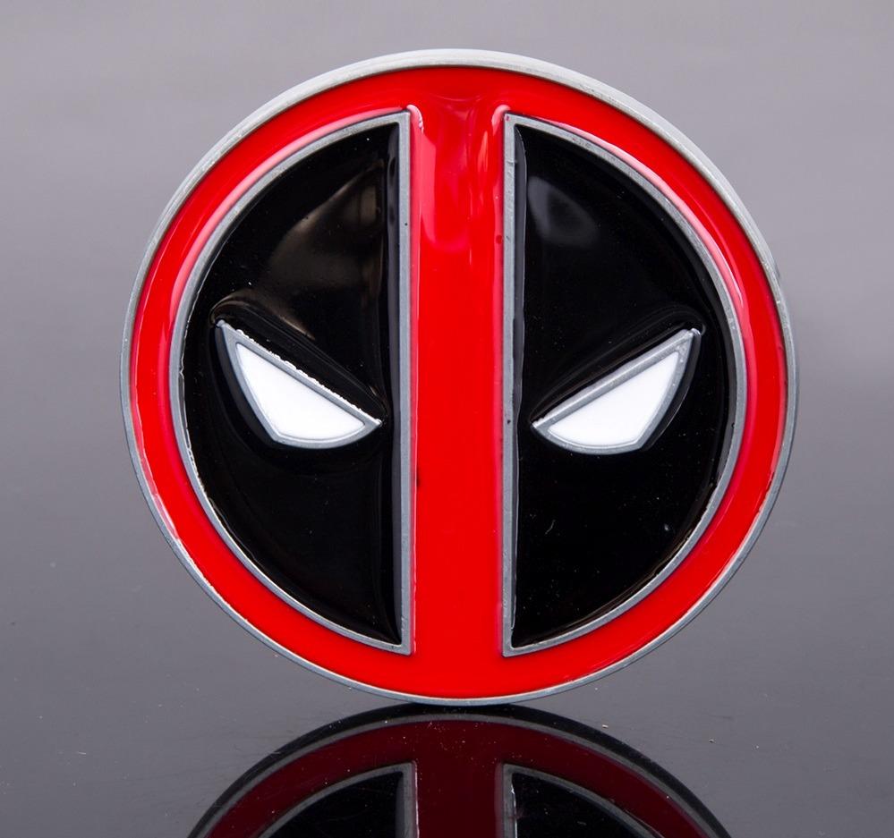 Fivela P Cinto Deadpool Marvel Gibi Desenho Filmes Séries Dc