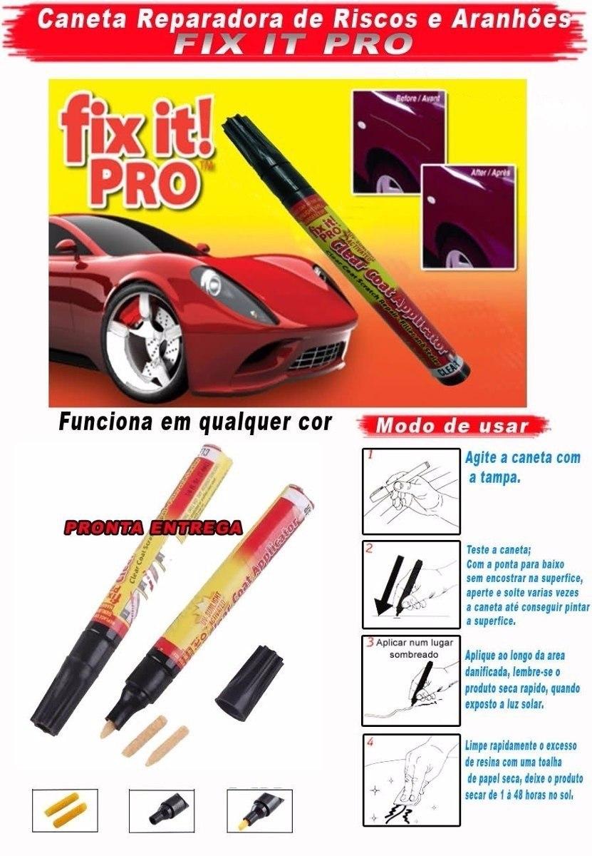 fix it pro caneta tira riscos arranh es de carro r 35 00 em mercado livre. Black Bedroom Furniture Sets. Home Design Ideas