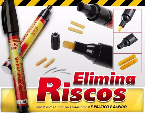 fix it pro - caneta tira riscos arranhoes de carro - barato