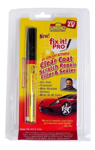 fix it pro lapiz quita repara rayas rayones en pintura auto