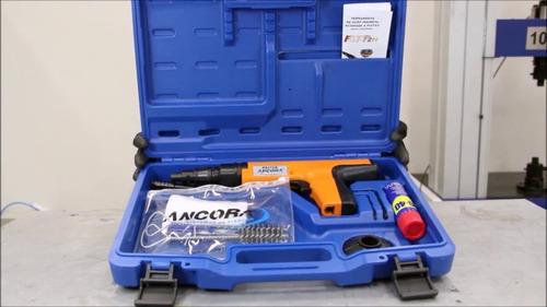 fixação ação pistola