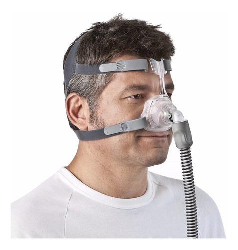 fixador 4 pontas másc mirage fx resmed + filtro anual 12unid