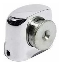 fixador prendedor de porta magnetico polido no piso starfer