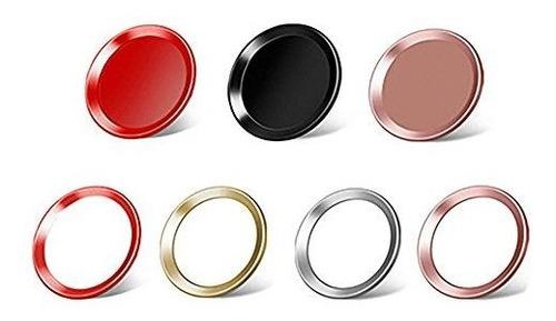 fixer 7 pcs iphone home button sticker soporte fingerprint t