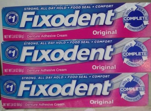 fixodent crema adhesiva dentadura