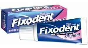 fixodent original pasta adhesiva para dentaduras 40ml