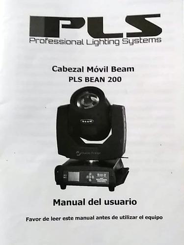 fixture de freestyler para cabezal pls bean 200 ( v1 )