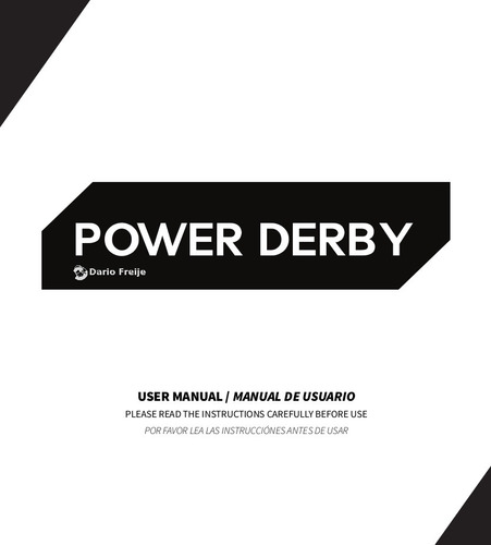 fixture de freestyler para power derby de tecshow