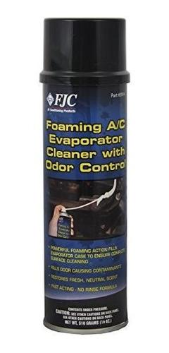 fjc 5914 limpiador del evaporador que hace espuma - 16 oz.