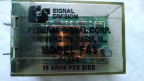 flacheador fa3 marca federal signal para dos focos