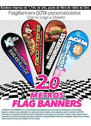 flag banner 2m gota  + poste