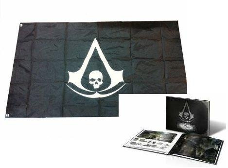 flag xbox 360 assassin's creed black