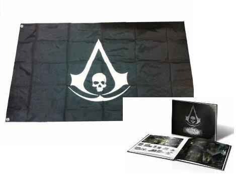 flag xbox 360 assassin's creed black
