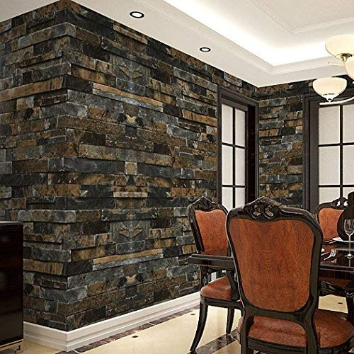 Flagup 3d Brick Wallpaper Vintage Stone Efecto