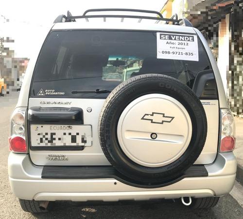 flamante chevrolet gran vitara 5 puertas - año 2012