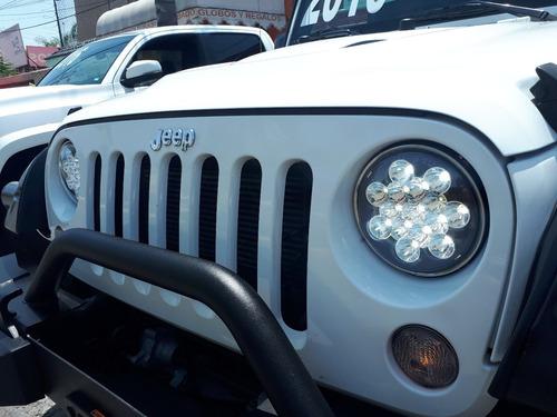 flamante jeep rubicon 2016 equipo extra ahorre c-v