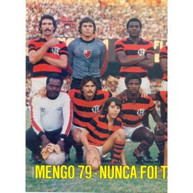 Flamengo 1979 - Pôster Da Placar - Aproximadamente 41 X 27