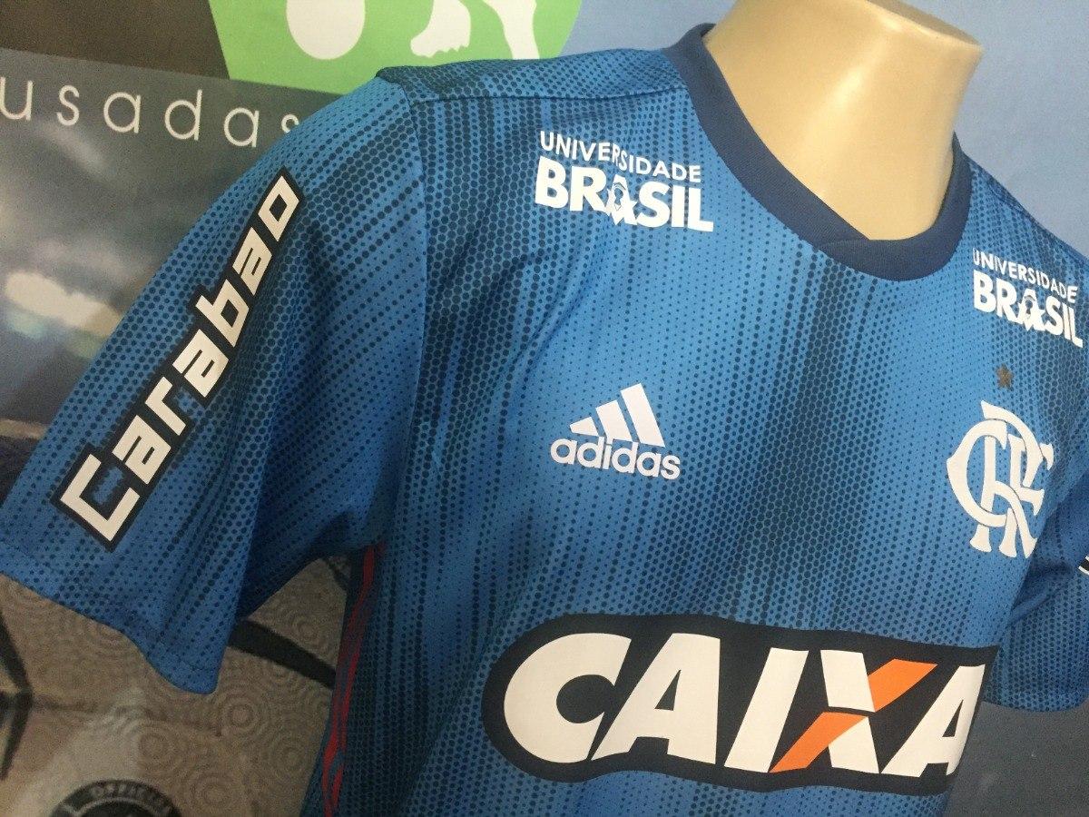 Carregando zoom... camisa 3 do flamengo usada pelo h.dourado no brasileiro  2018 8e54cab734999