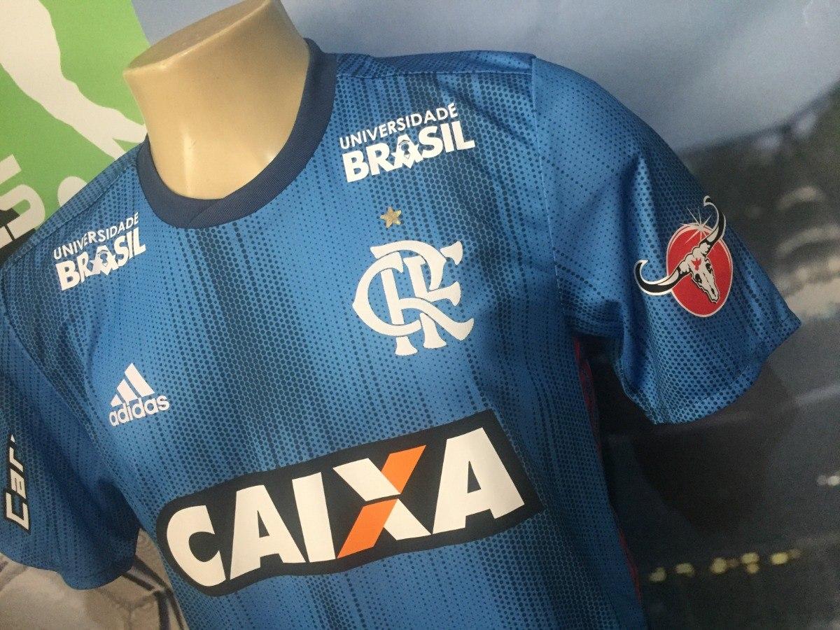 Carregando zoom... 2 camisa 3 do flamengo usada pelo h.dourado no brasileiro  2018 bca43f4c5f6a1